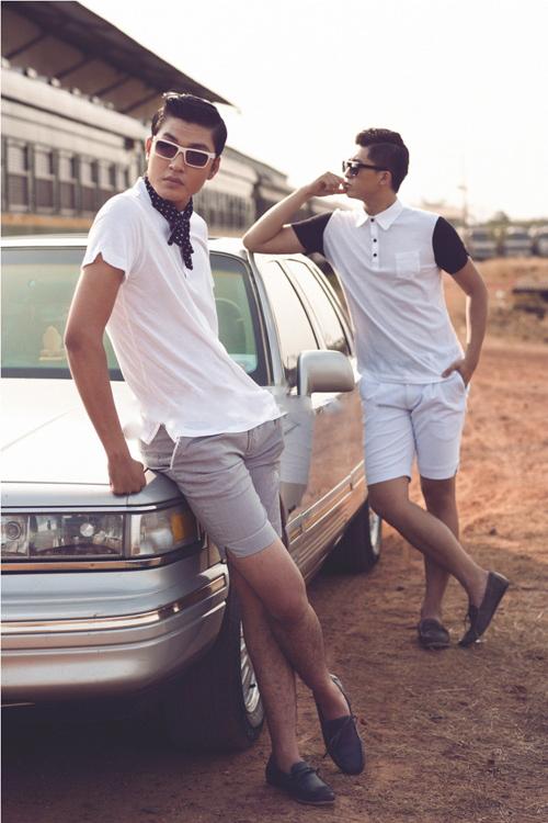 Cách chọn quần short nam cho chàng chân ngắn - 2