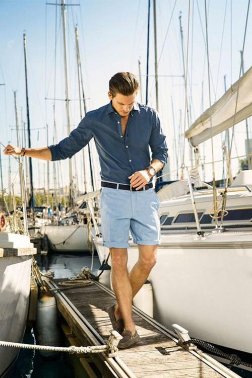 Cách chọn quần short nam cho chàng chân ngắn - 6