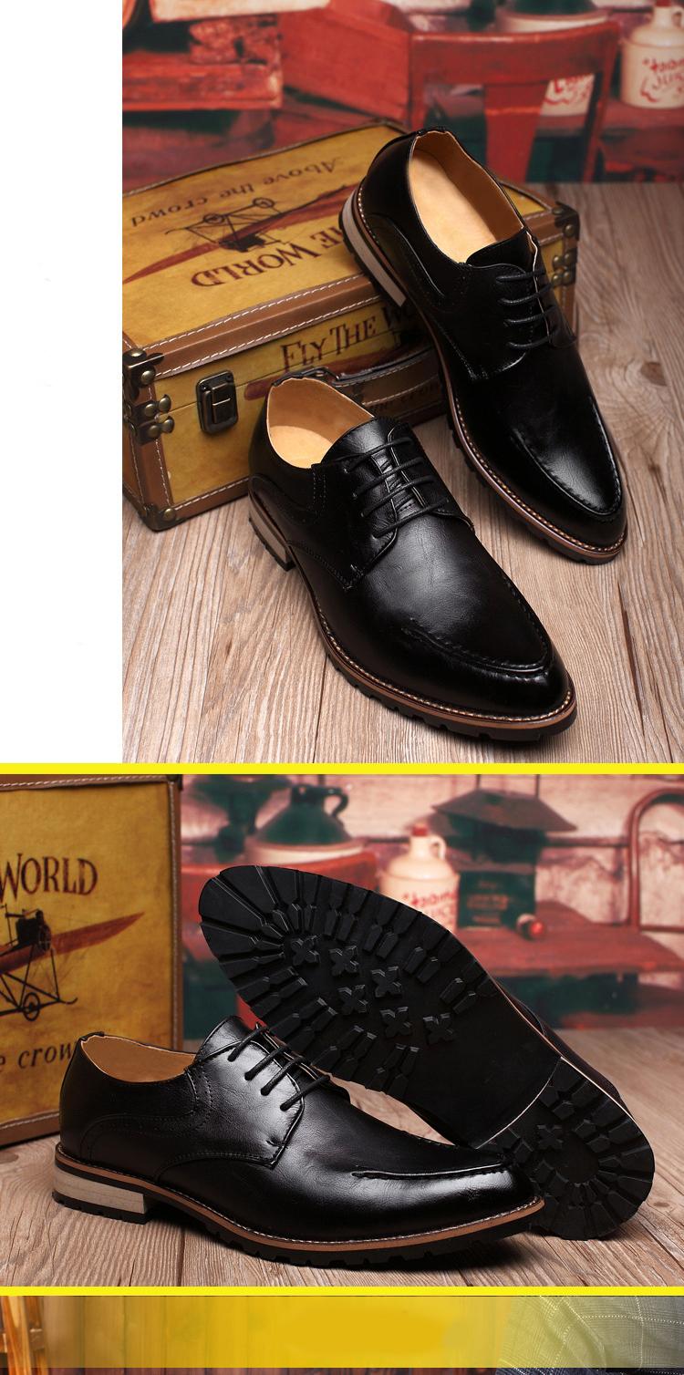 Giày tây da đen g69 - 1