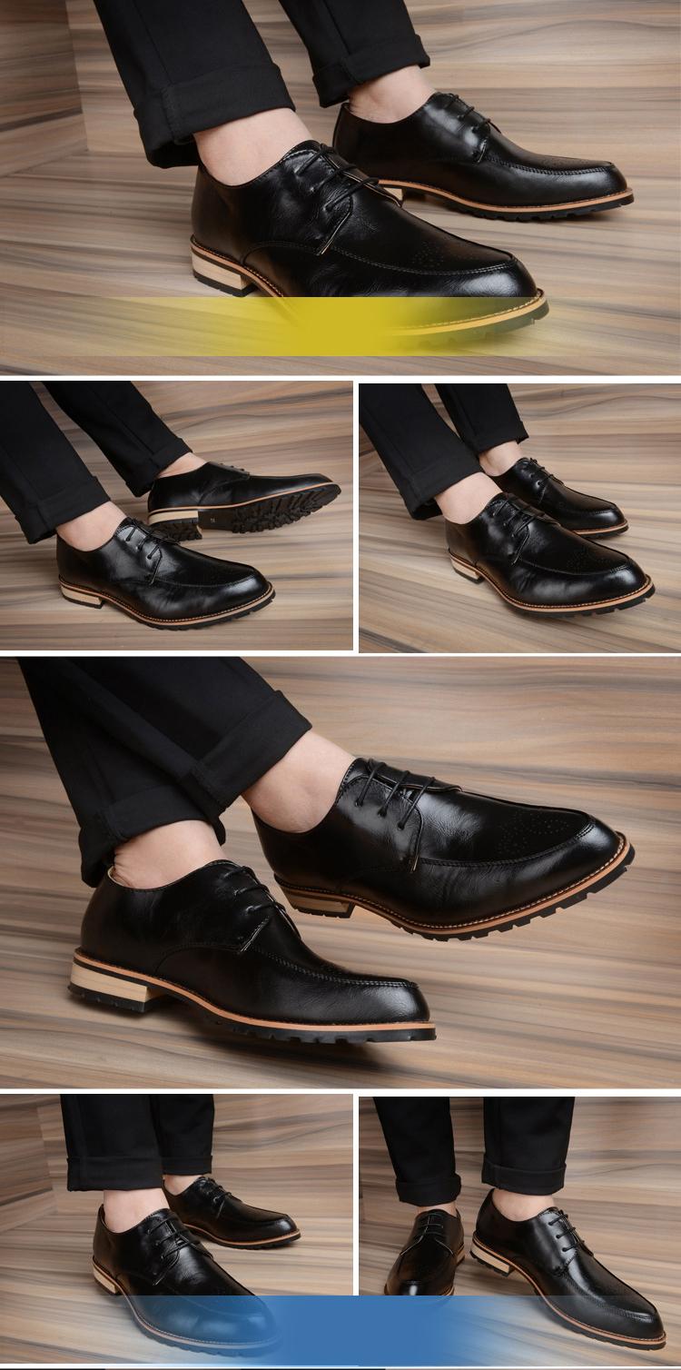 Giày tây da đen g70 - 2