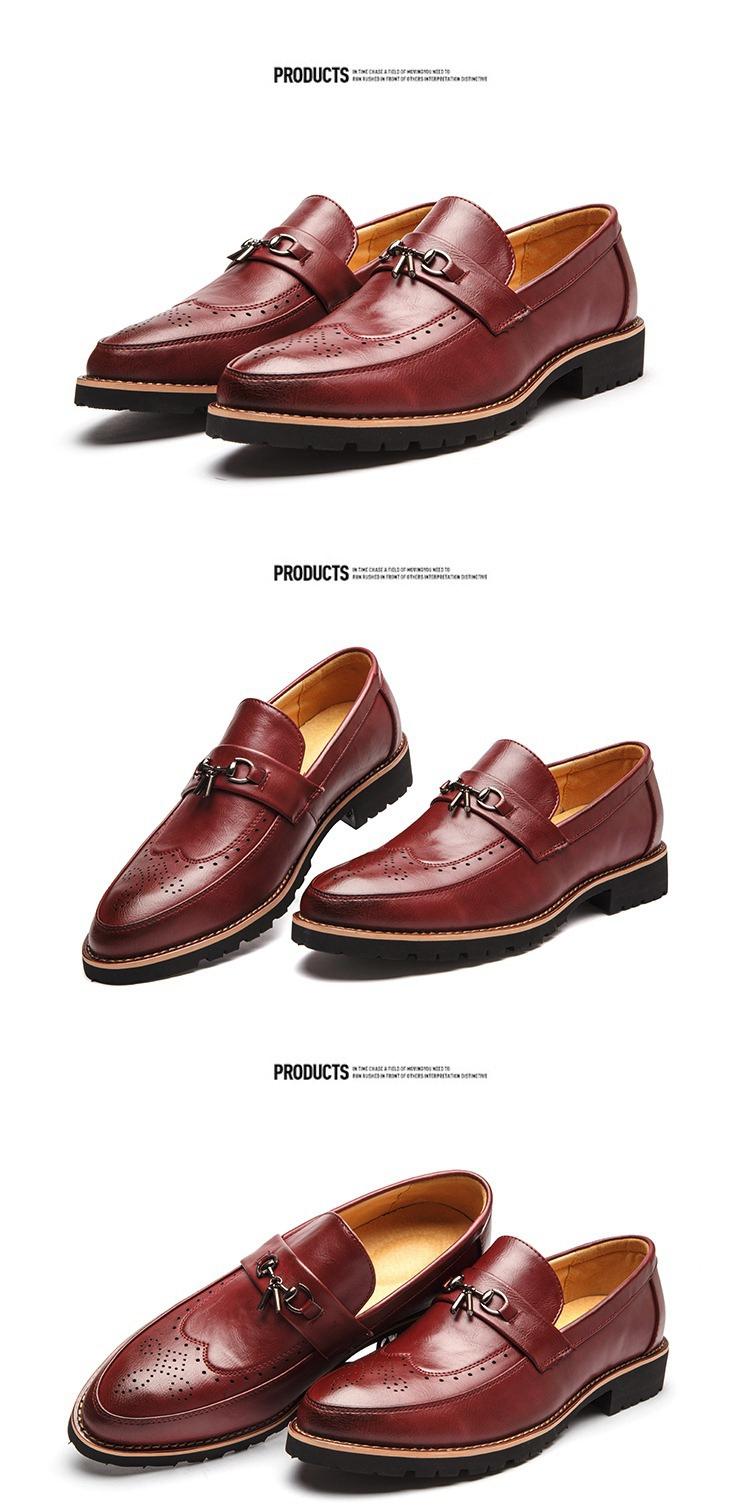 Giày tây đỏ g65 - 2