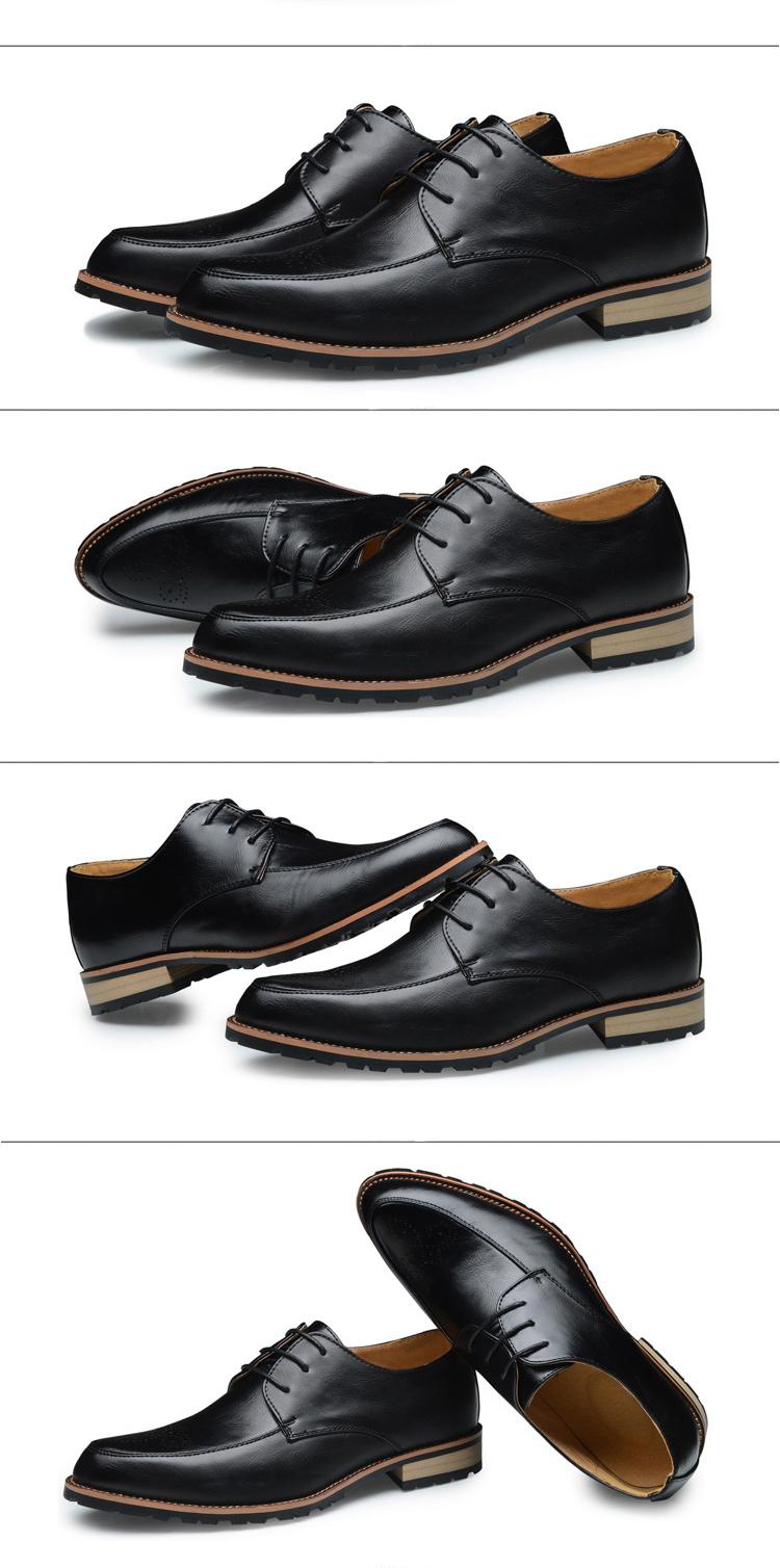 Giày tây da đen g70 - 3