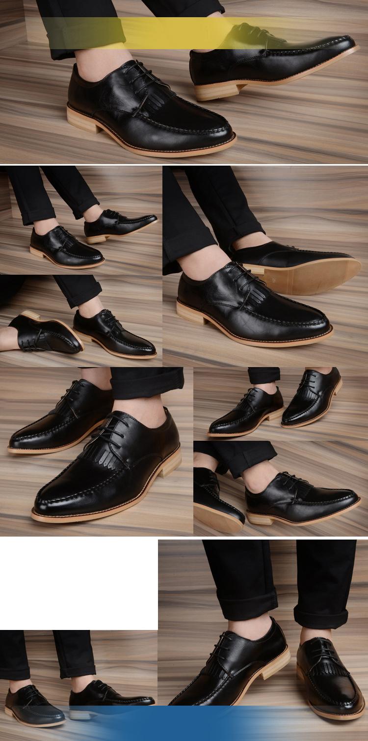 Giày tây da đen g71 - 1
