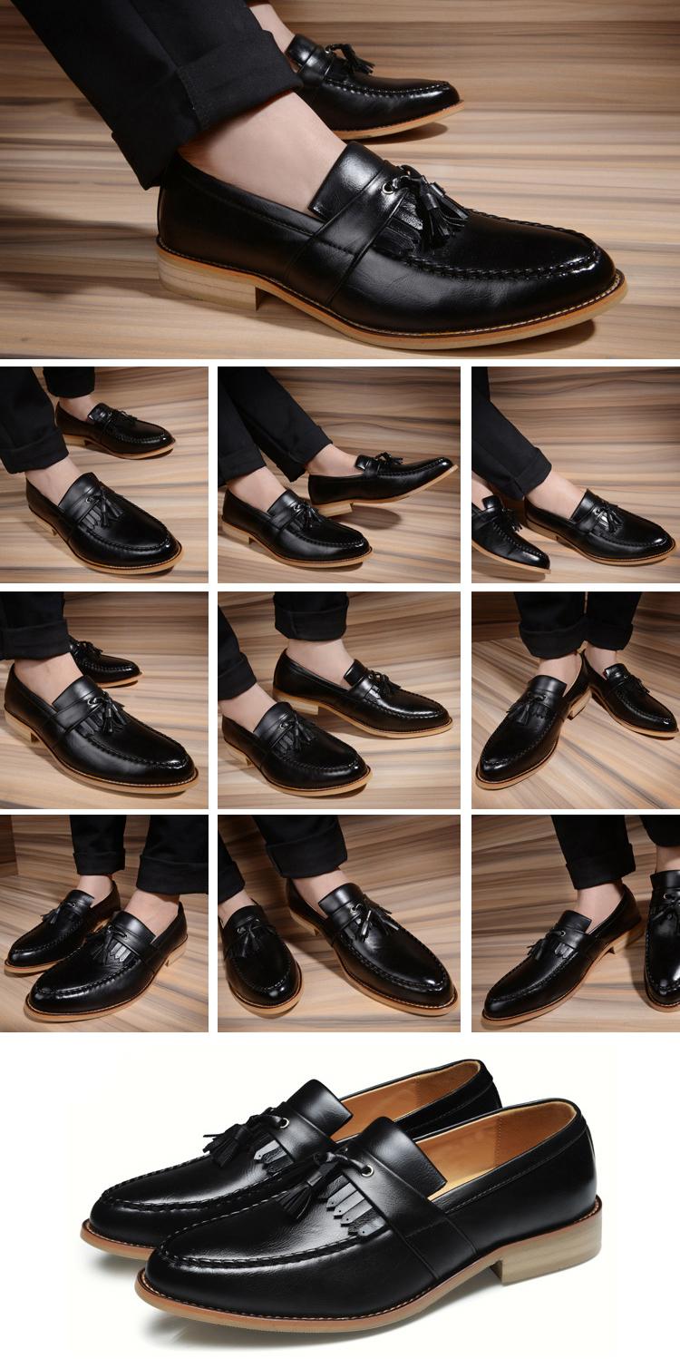 Giày tây đen g68 - 1