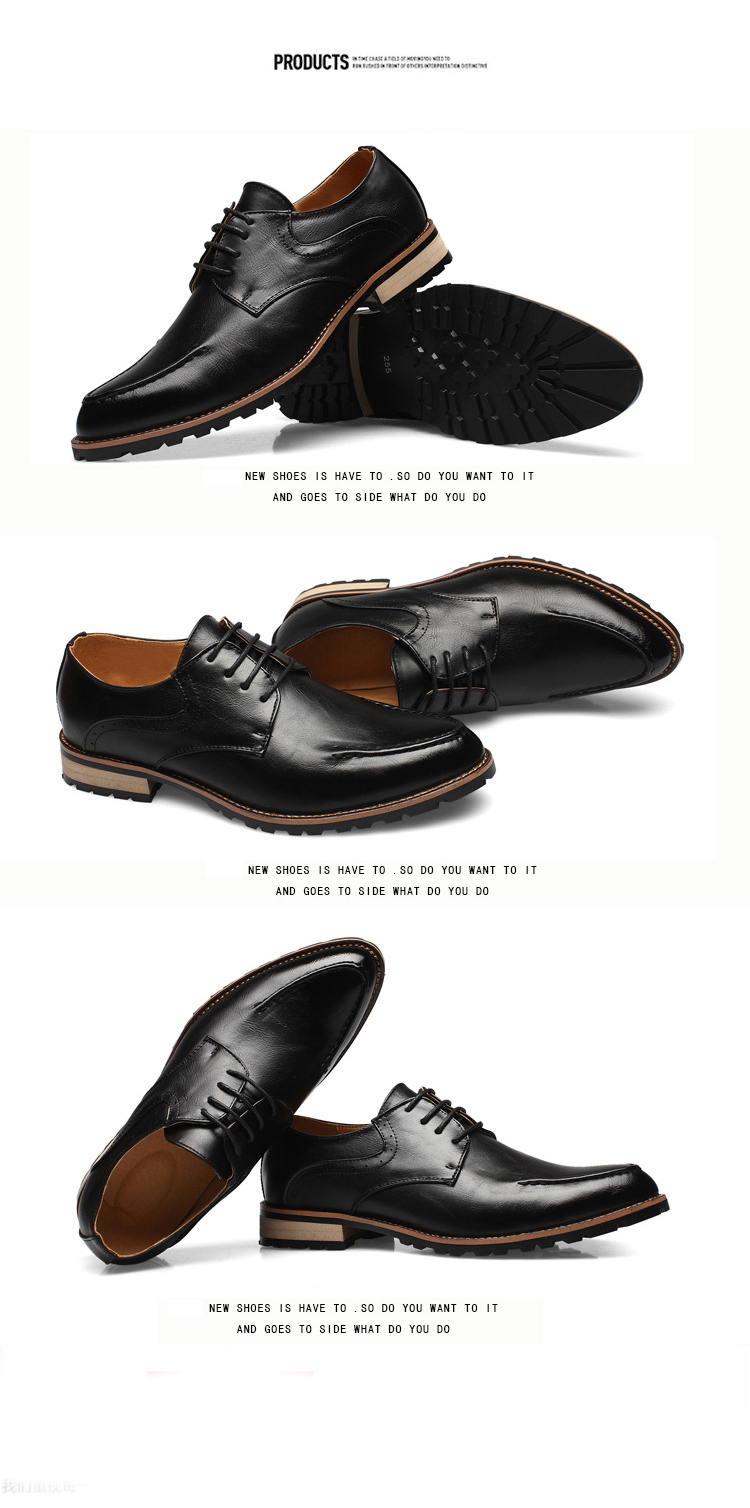 Giày tây da đen g69 - 2