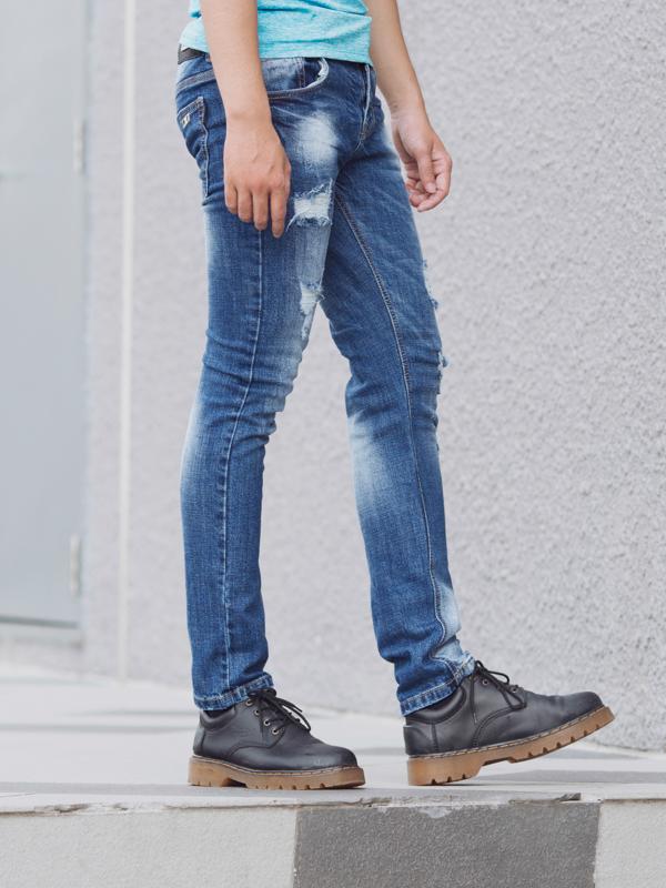 Quần jean xanh qj1399 - 1