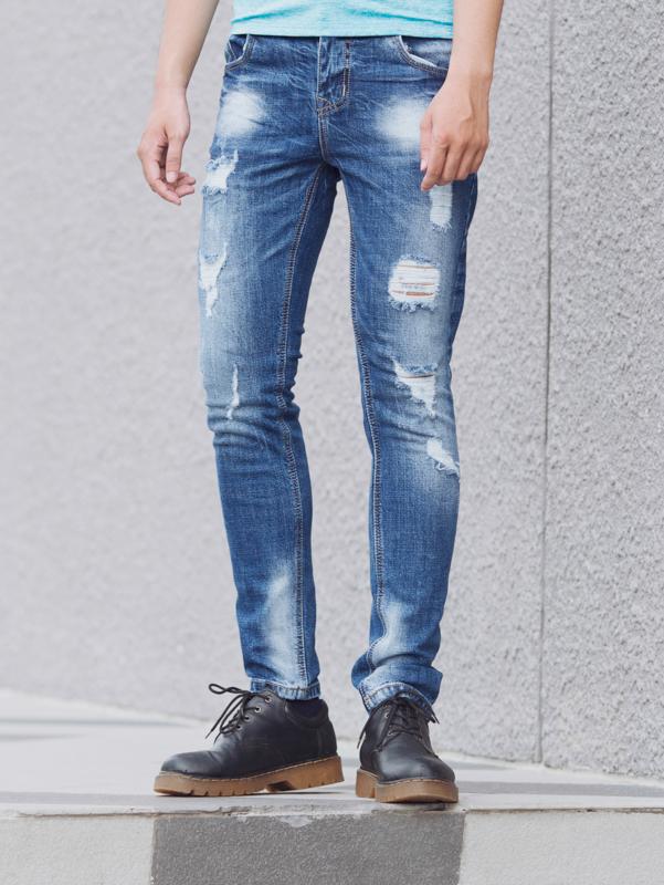 Quần jean xanh qj1399 - 3