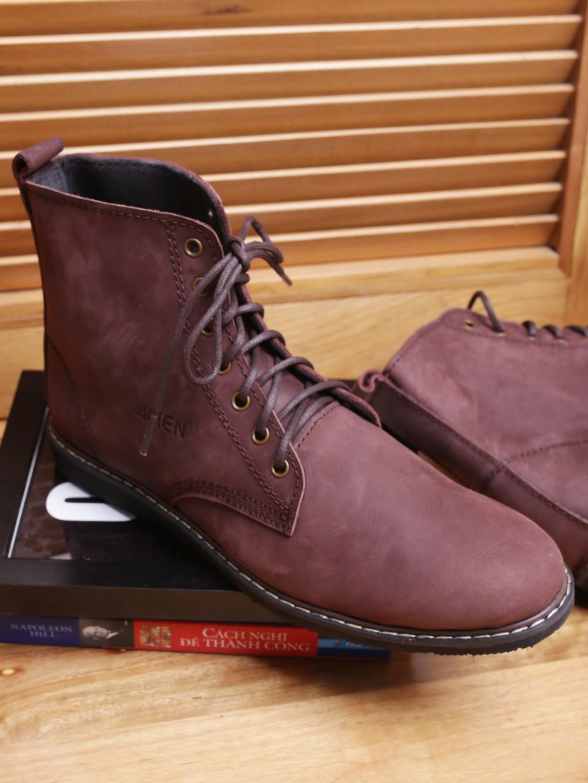 Giày boot nâu g90 - 1