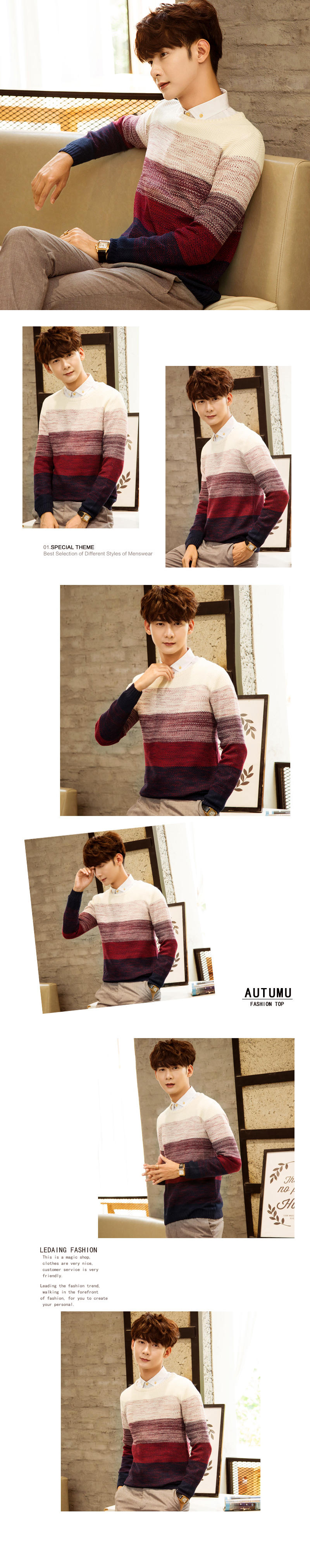 Áo len đỏ al88 - 1