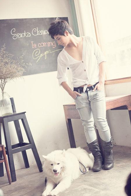 Style đơn giản cùng chàng trai tháng 12 - 3