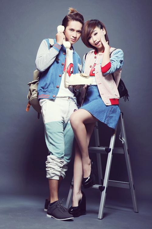 Trang phục năng động cho cặp đôi mùa thu - 1