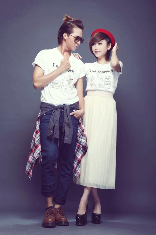 Trang phục năng động cho cặp đôi mùa thu - 4