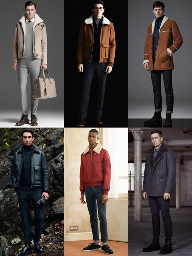 4 xu hướng áo khoác nam hot nhất 2017 - 2