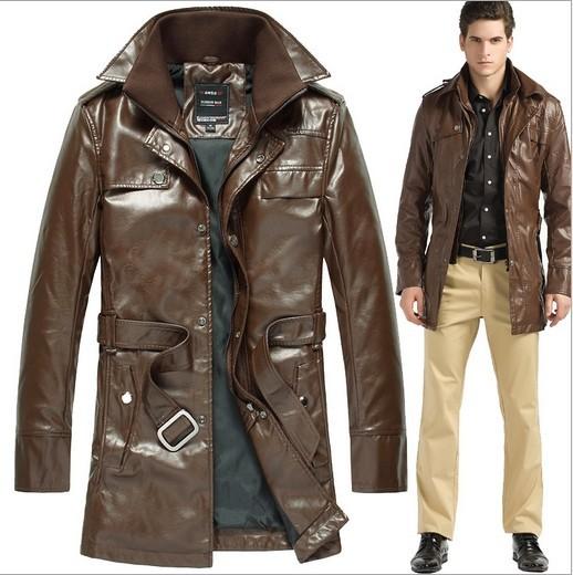 3 loại áo khoác da nam thích hợp khi mùa lạnh - 3