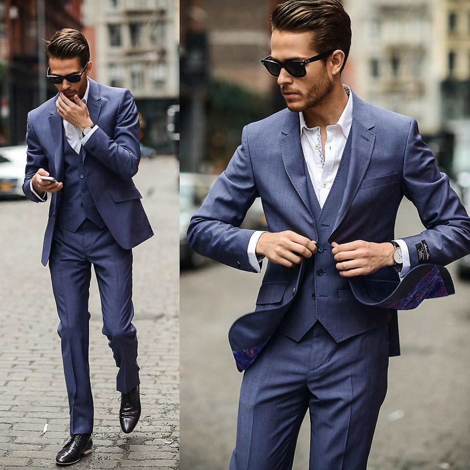 Bí quyết mặc đẹp cho nam giới khi dự tiệc cưới - 1