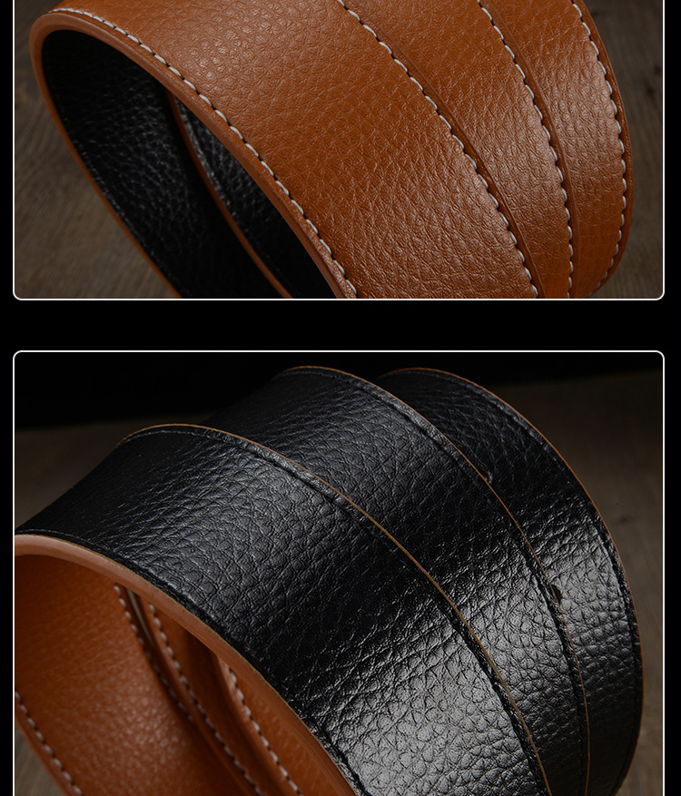 Thắt lưng nam màu bò tl323 - 2