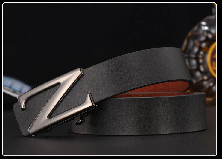 Thắt lưng nam đen tl321 - 1