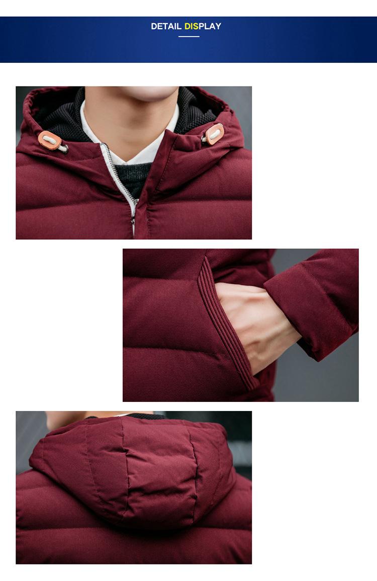 Áo khoác phao đỏ đô ak229 - 4