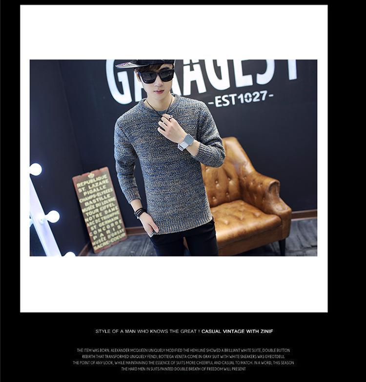 Áo len dệt đốm nâu al115 - 2