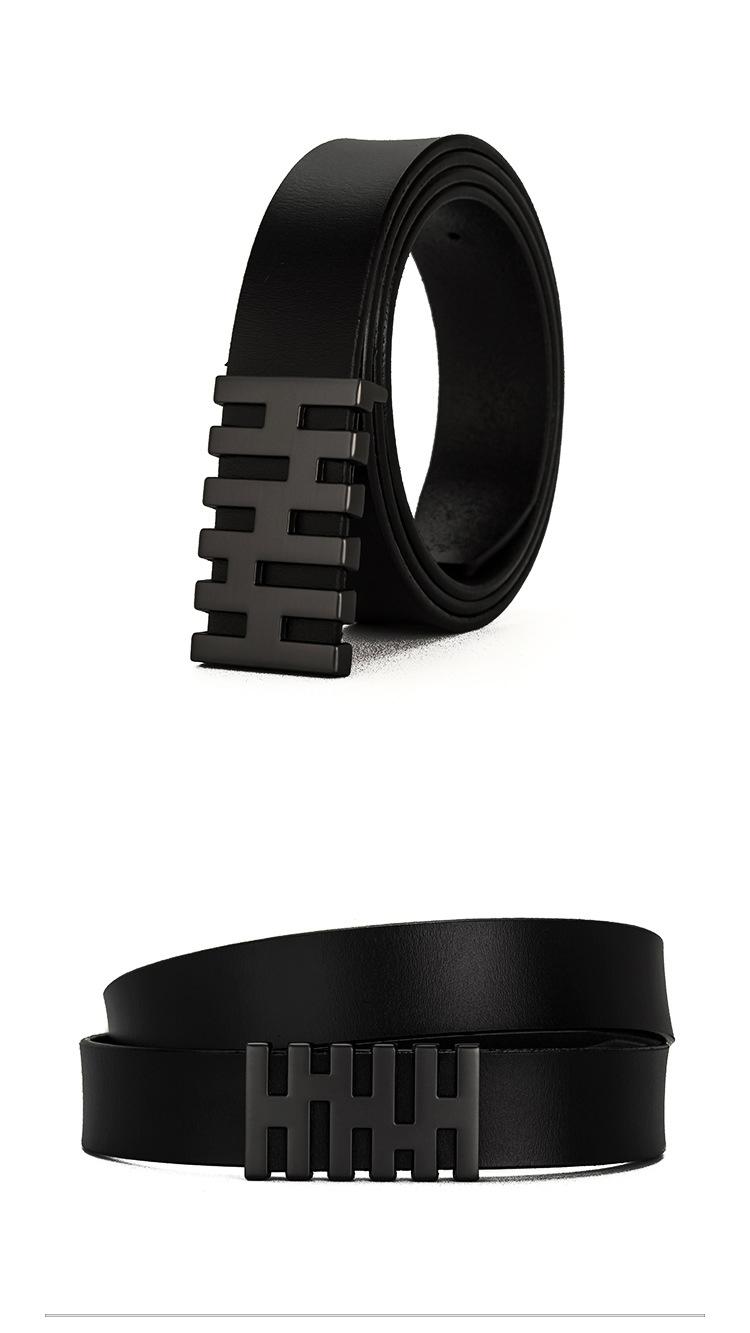 Thắt lưng nam đen tl328 - 1