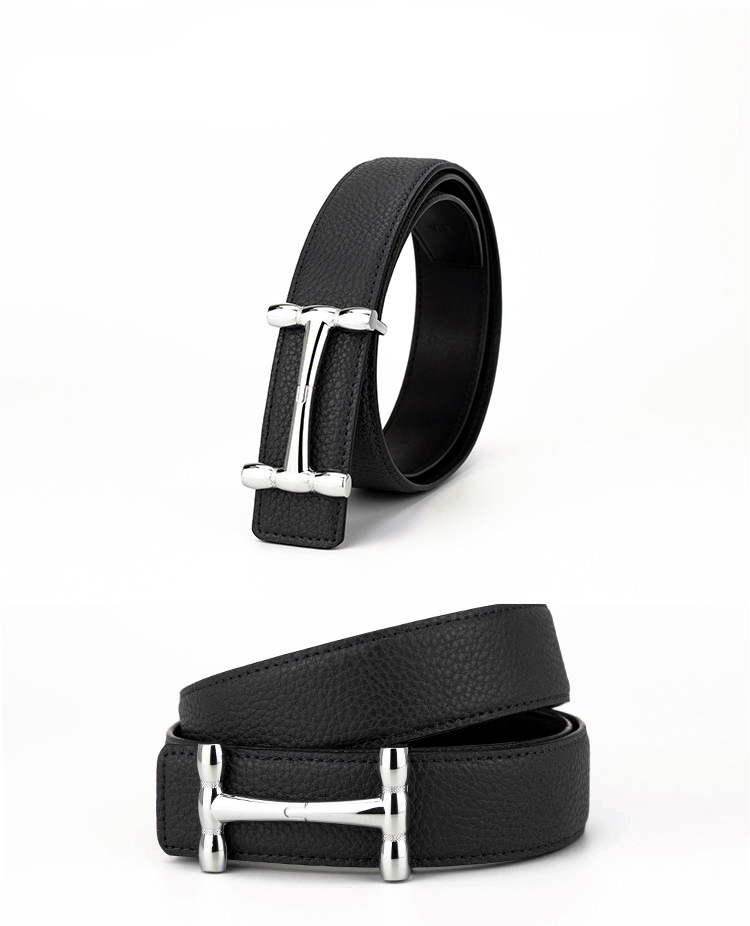 Thắt lưng nam đen tl335 - 1