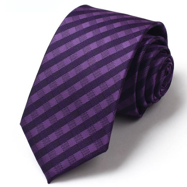 Cà vạt tím cv151 - 1