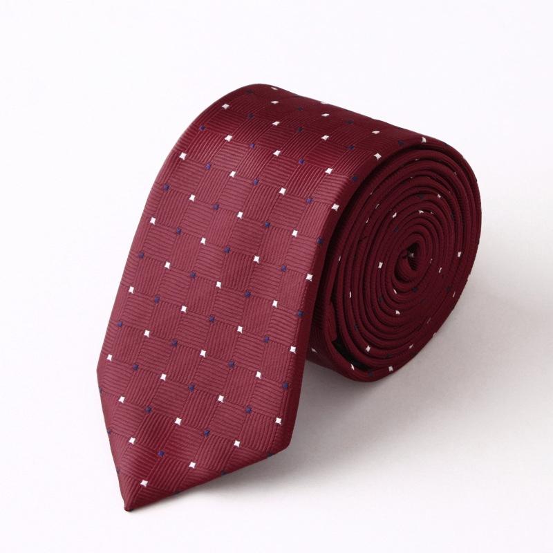 Cà vạt đỏ đô cv147 - 1