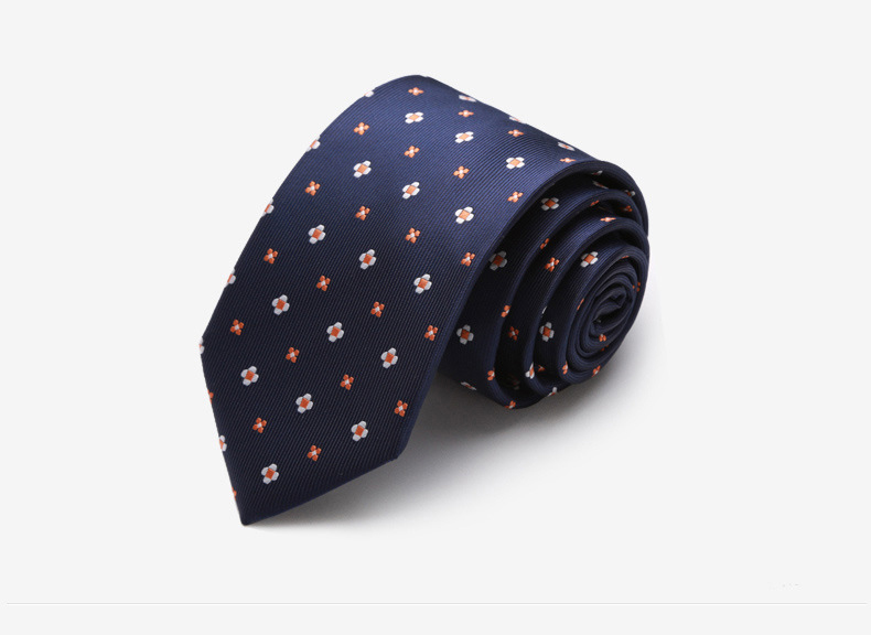 Cà vạt xanh đen cv141 - 1