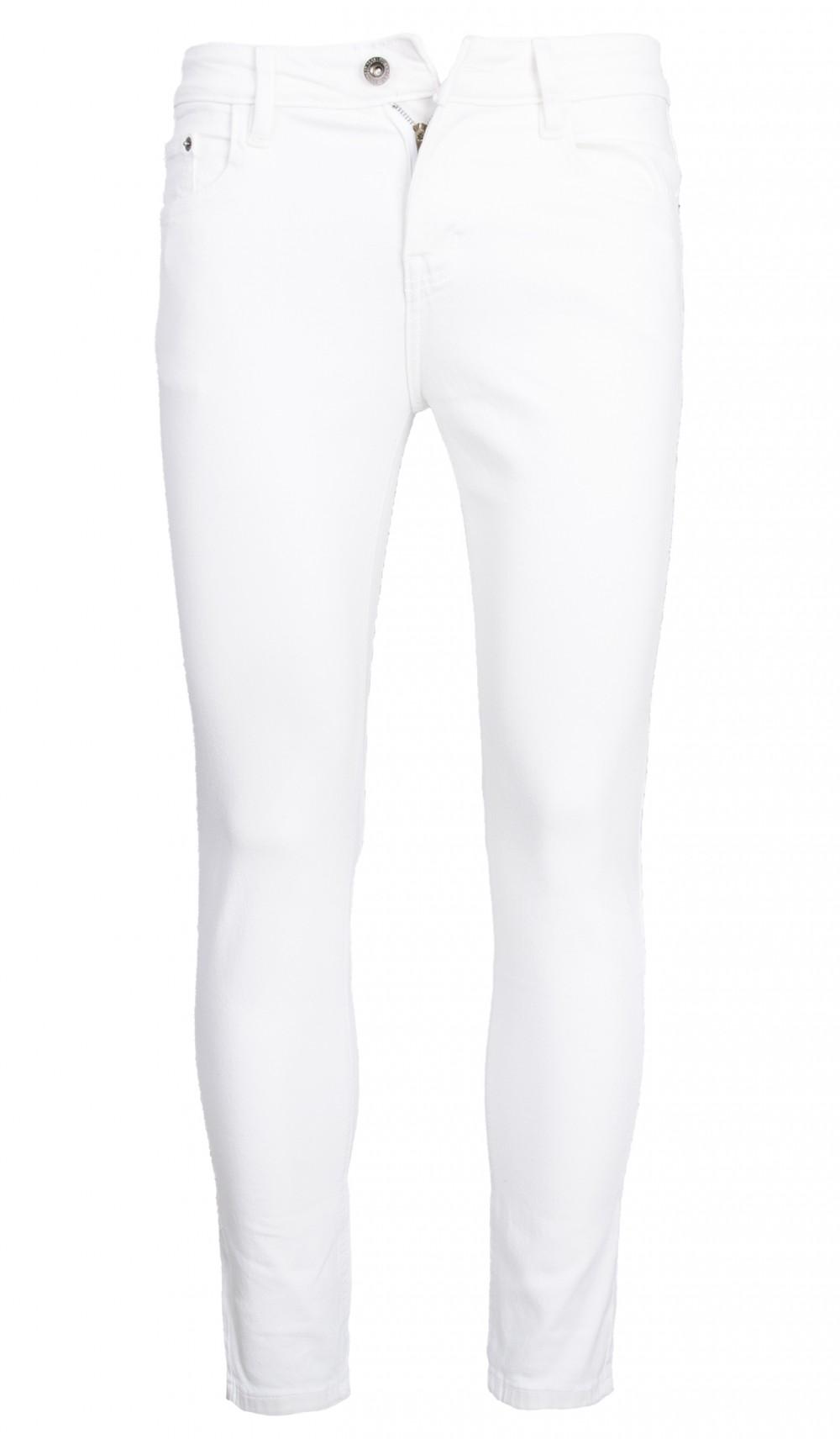 Quần jeans skinny trắng qj1394 - 1