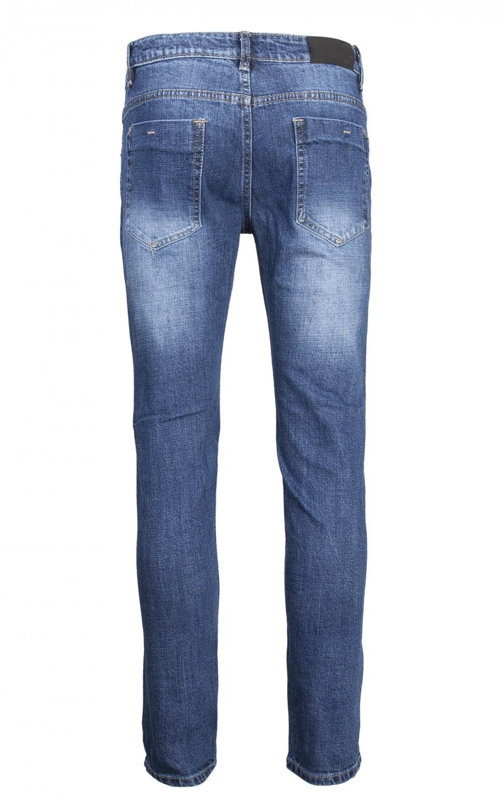 Quần jeans rách xanh đen qj1566 - 2
