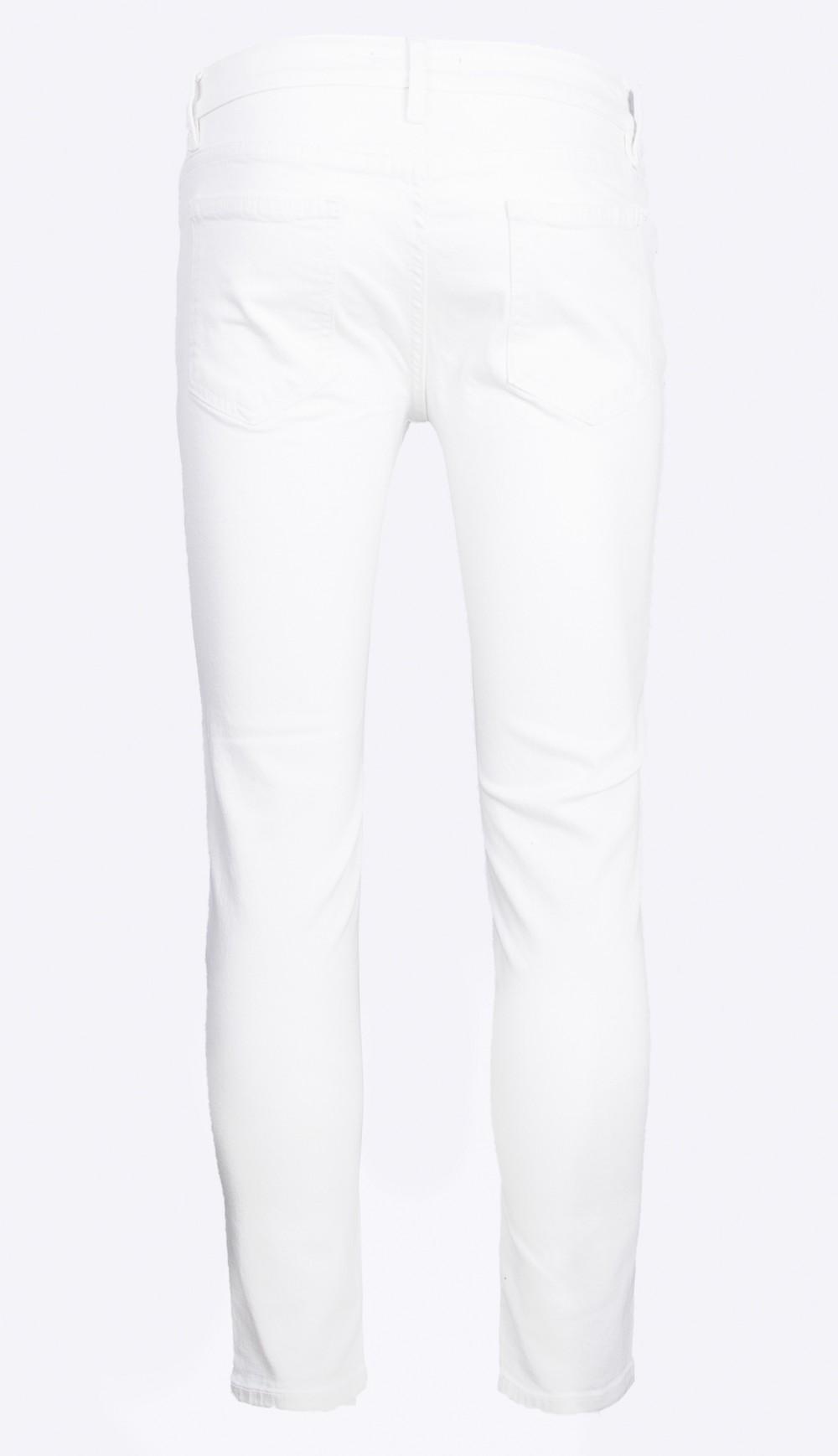 Quần jeans skinny trắng qj1394 - 2