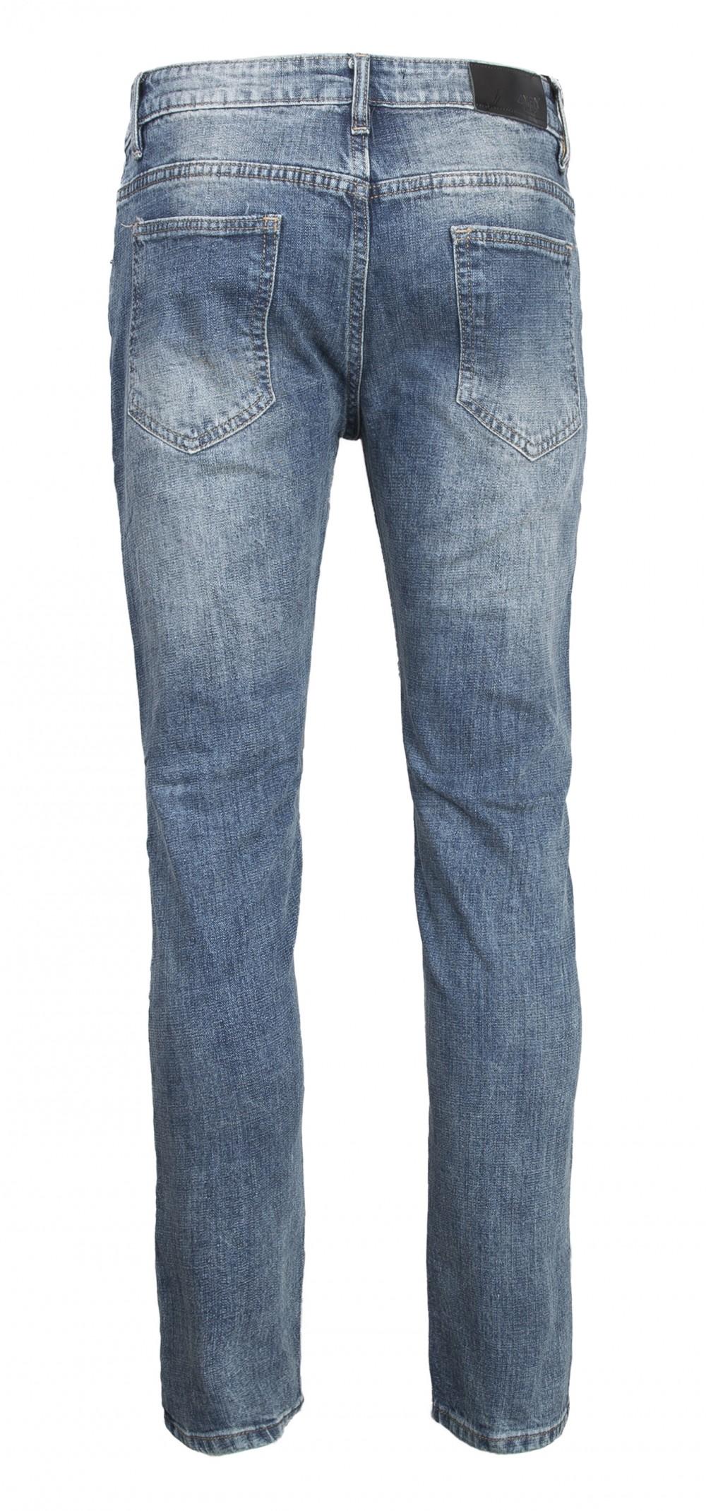Quần jeans rách xanh rêu qj1565 - 3