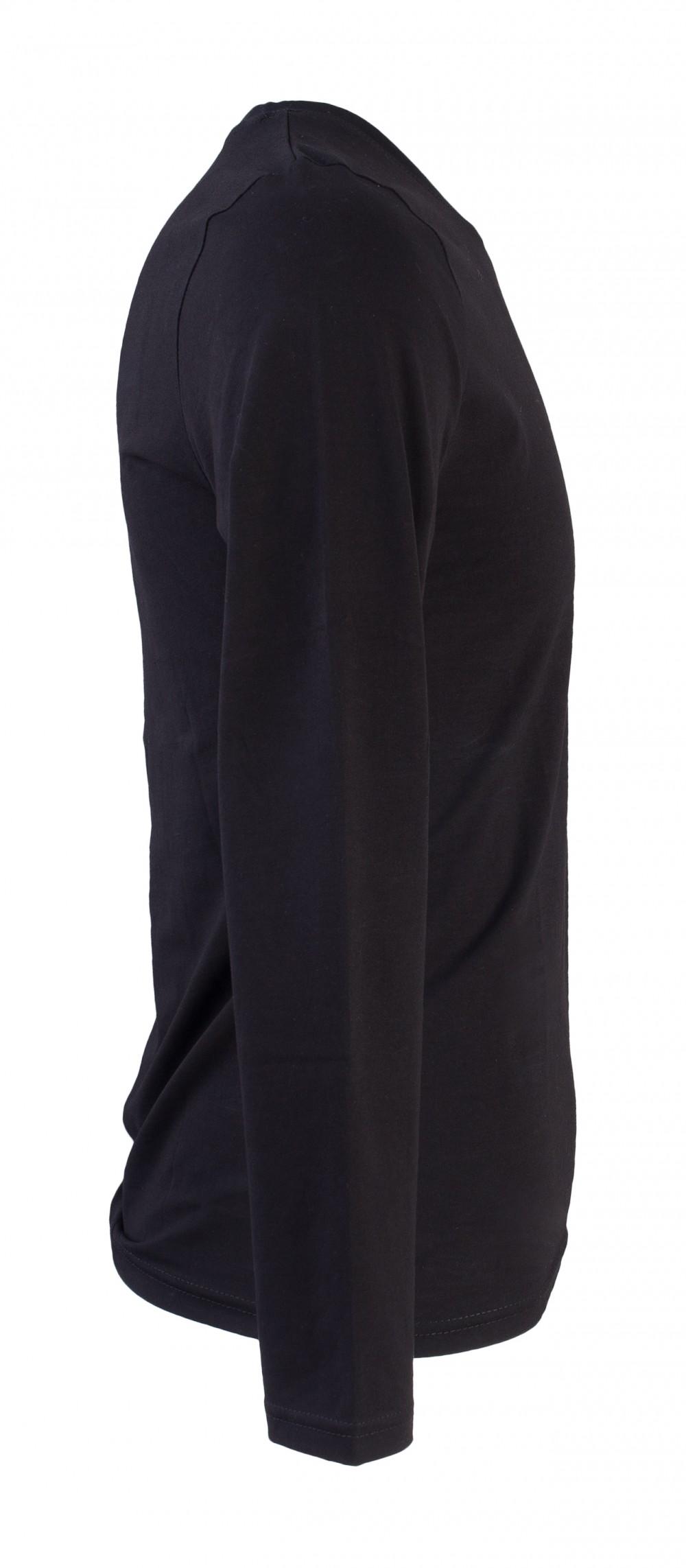 Áo thun tay dài đen at748 - 2