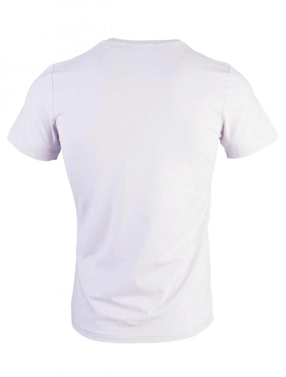 Áo thun xám trắng at716 - 2