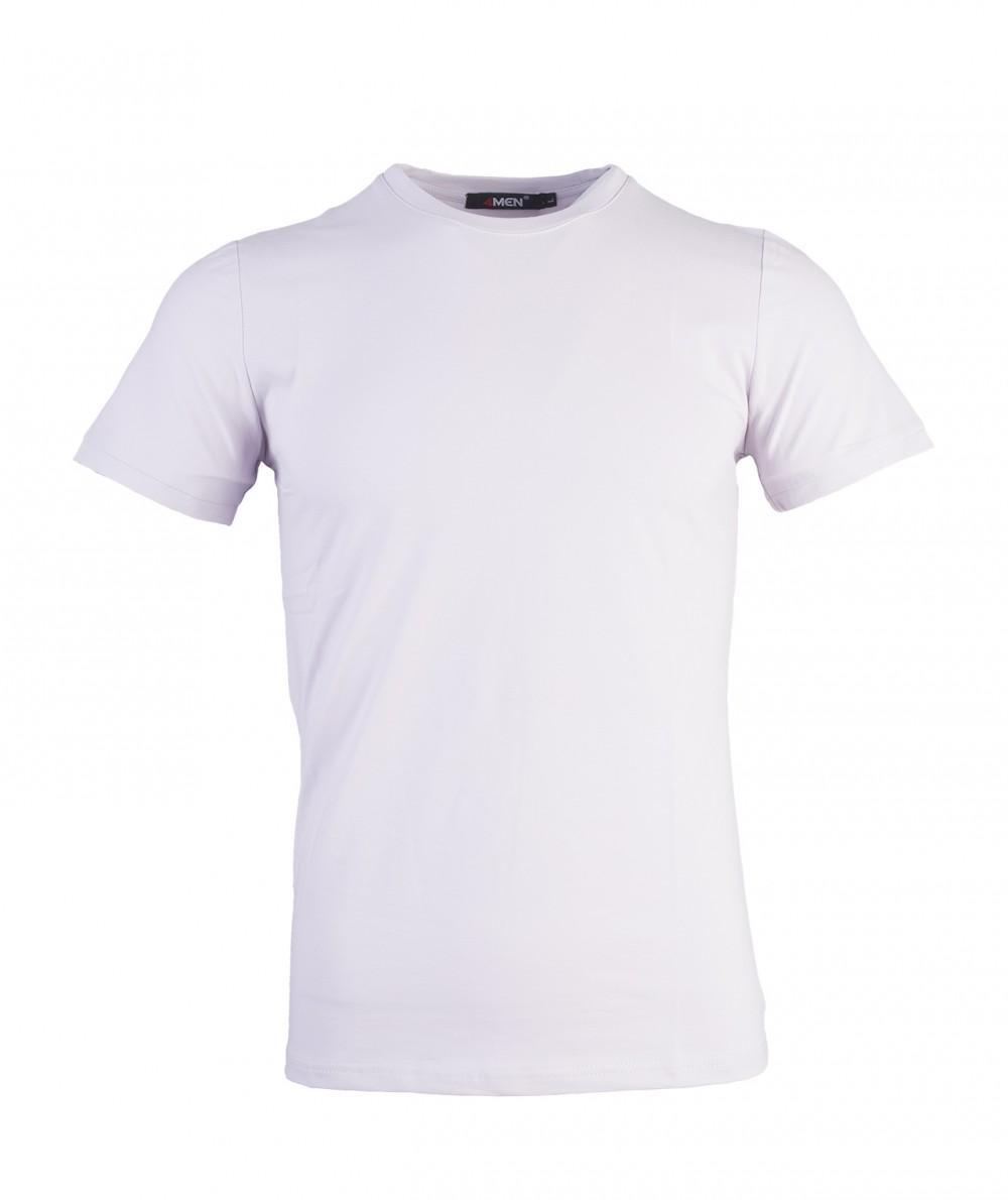 Áo thun xám trắng at716 - 1