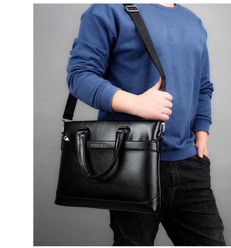 Túi xách đen tx100 - 8