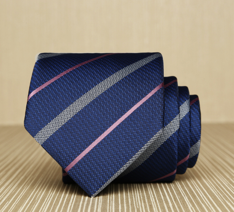 Cà vạt hàn quốc sọc cv161 - 1