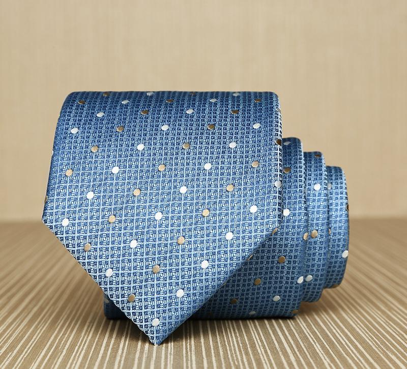 Cà vạt hàn quốc xanh cv158 - 1