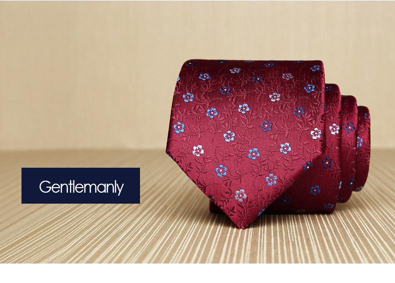 Cà vạt hàn quốc đỏ đô cv160 - 1