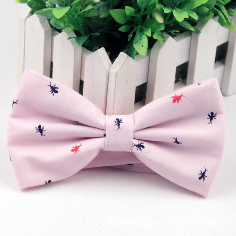 Nơ đeo cổ hồng nn100 - 1