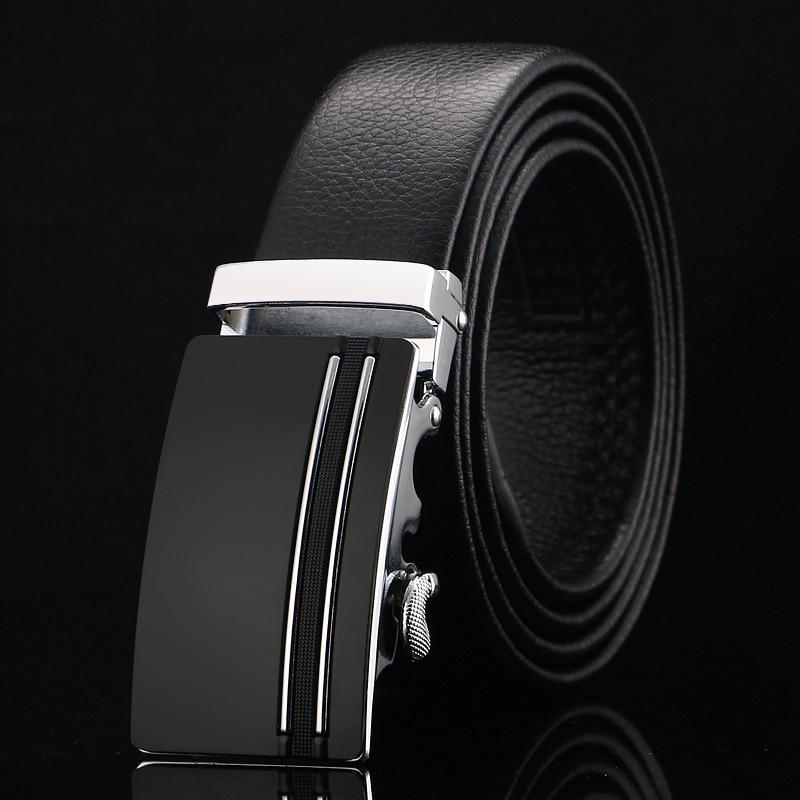 Thắt lưng nam đen tl360 - 1