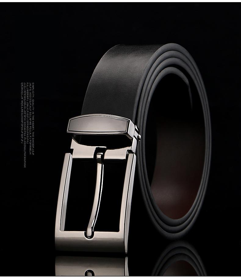 Thắt lưng nam đen tl373 - 1