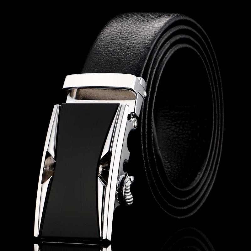 Thắt lưng nam đen tl357 - 1
