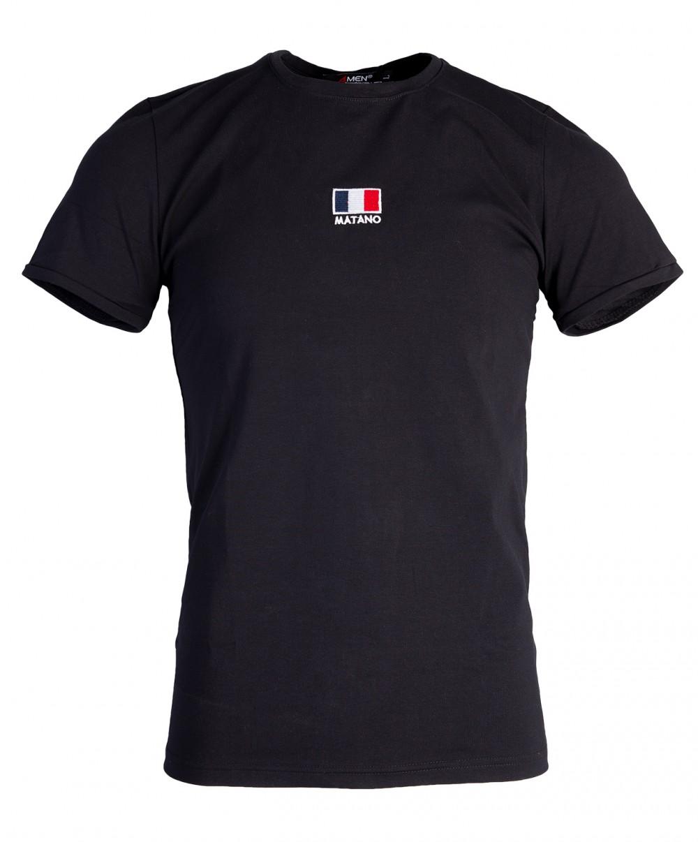Áo thun đen at760 - 4
