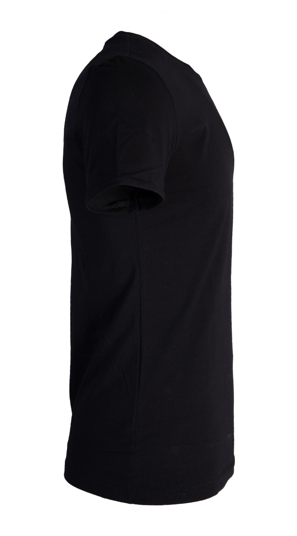 Áo thun đen at760 - 5