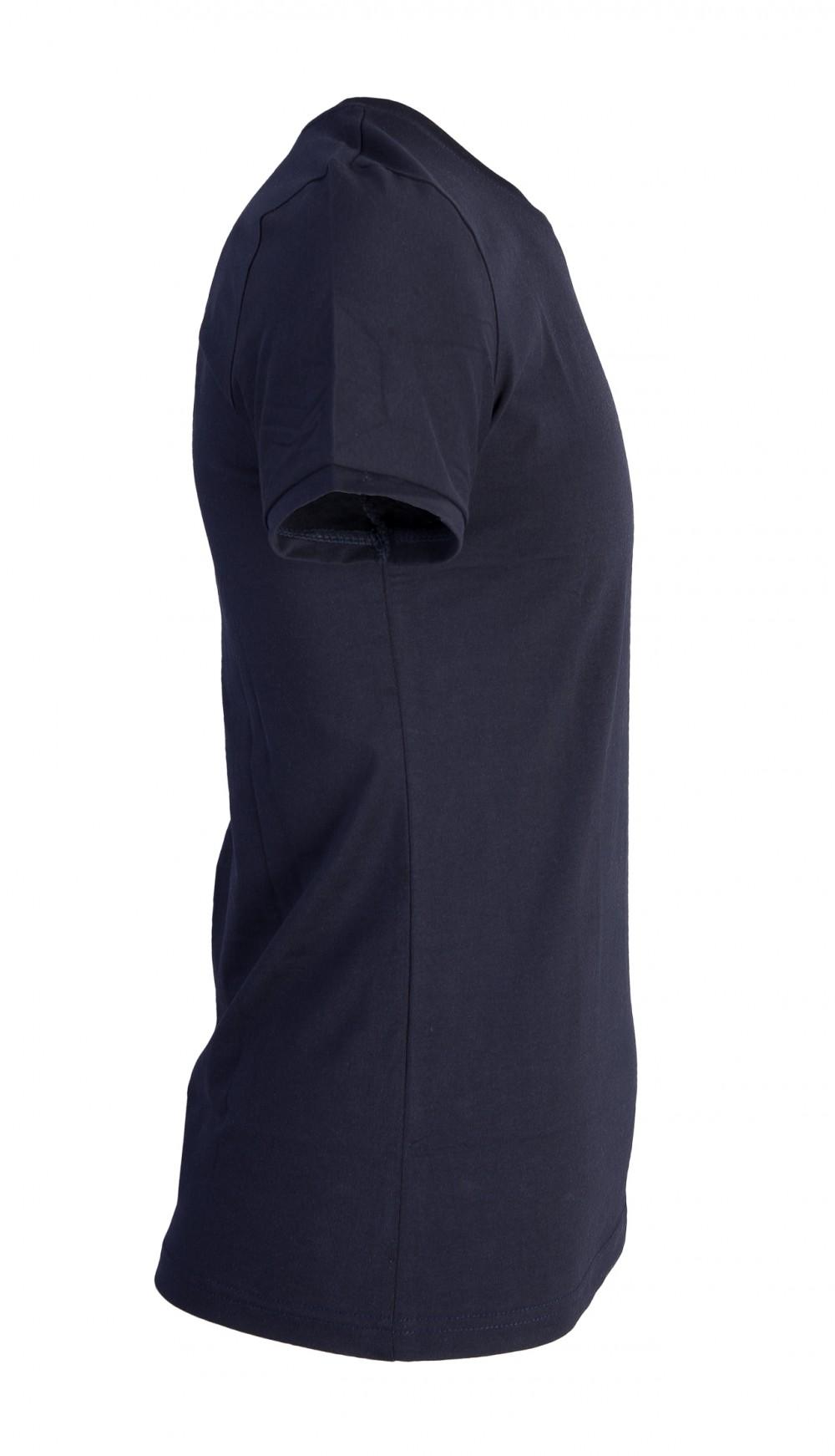 Áo thun xanh đen at760 - 5