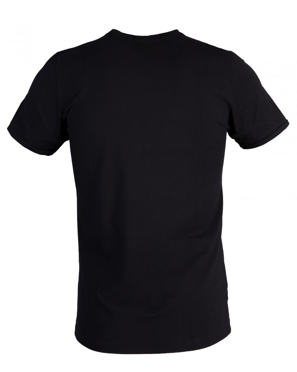 Áo thun đen at760 - 6