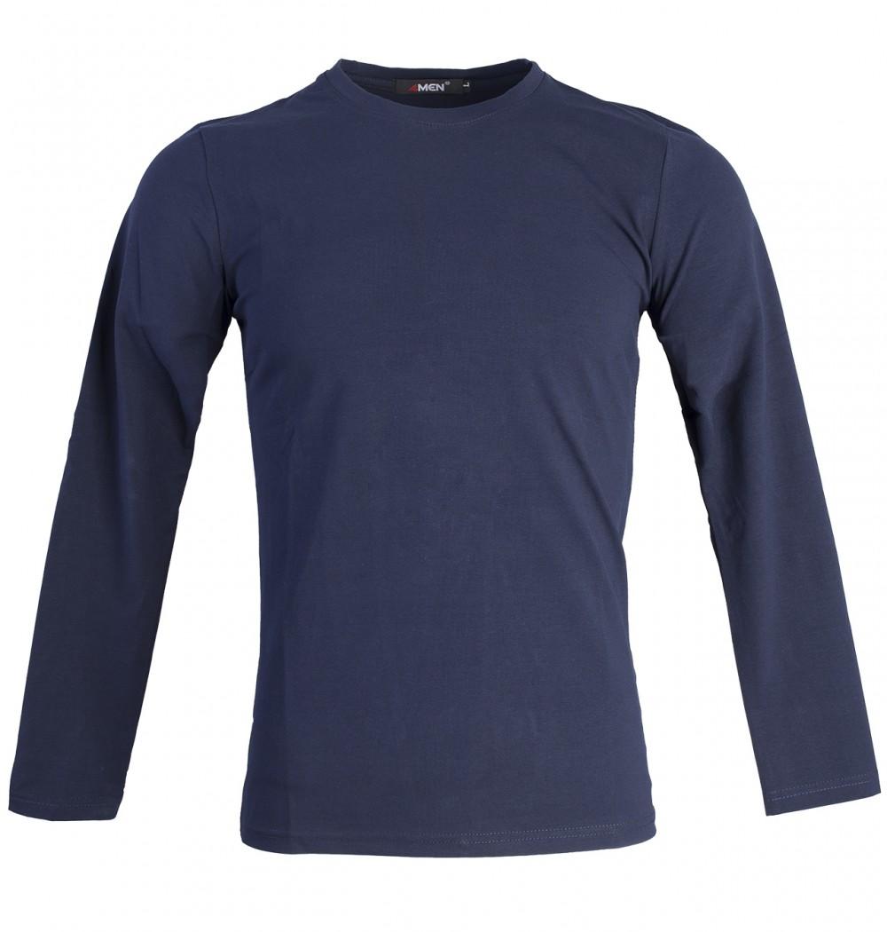 Áo thun tay dài xanh đen at748 - 1