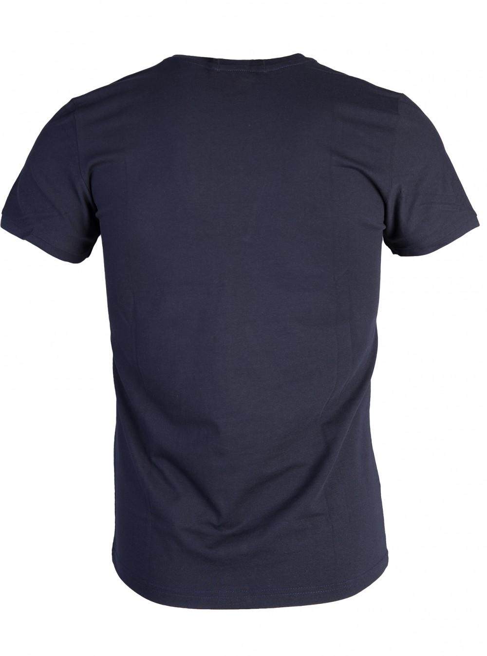 Áo thun xanh đen at760 - 6