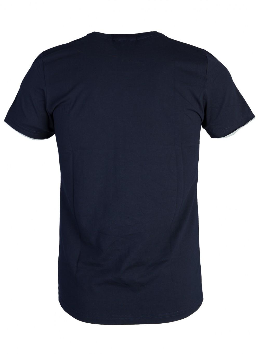 Áo thun xanh đen at761 - 3
